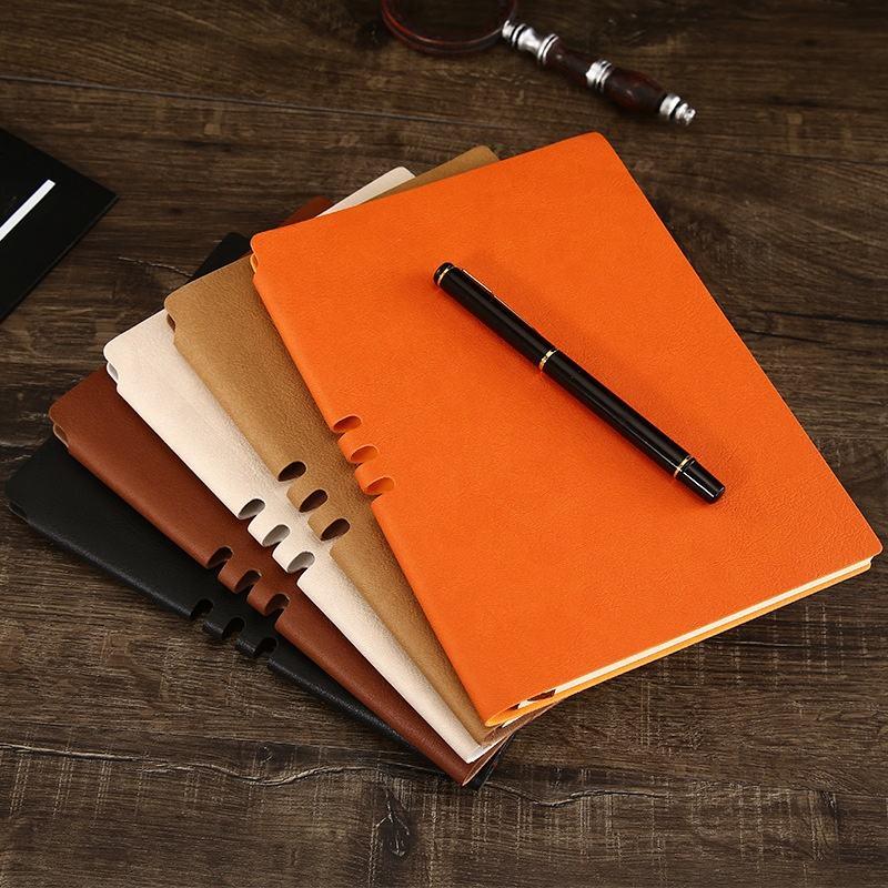 Cuaderno de negocios A5 Bloc de notas diario creativo libro <span class=keywords><strong>Oficina</strong></span> <span class=keywords><strong>papelería</strong></span> <span class=keywords><strong>conjunto</strong></span> puede ser logotipo personalizado
