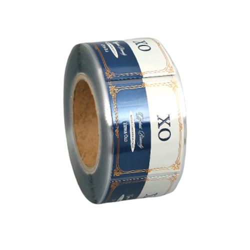 Impression Personnalisée de Haute Qualité Rouleau Adhésif Logo Étiquette Autocollants, Étiquettes Pour Le Vin