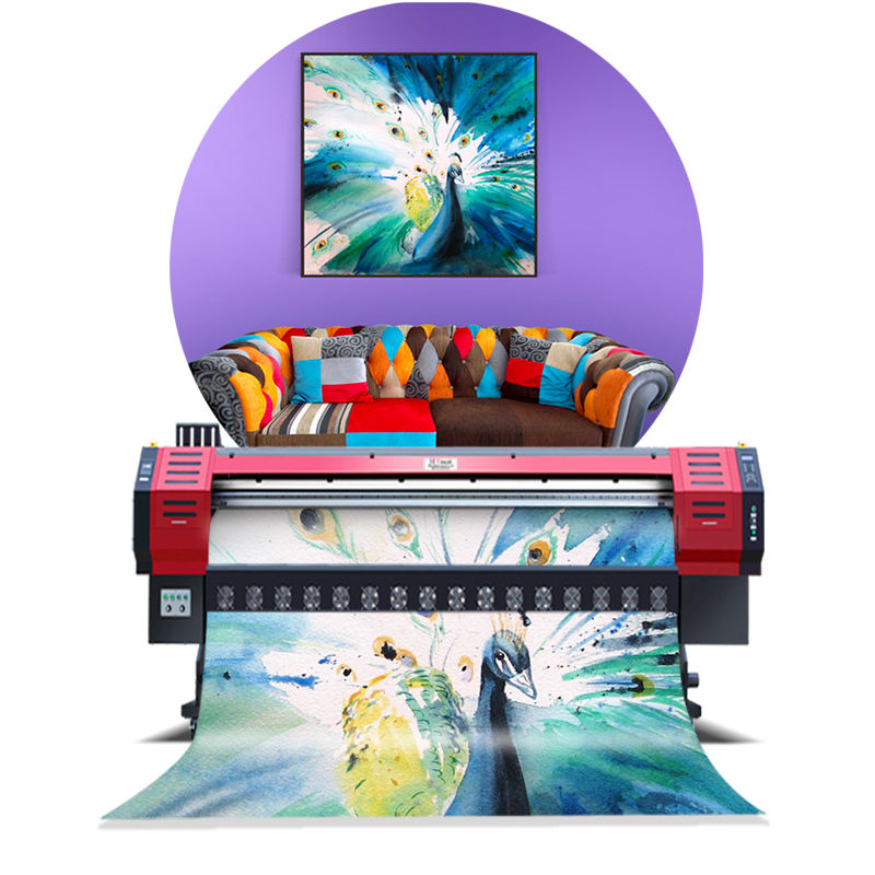 3.2m Large Format Eco Solvent Media Billboard Poster Printing Machine