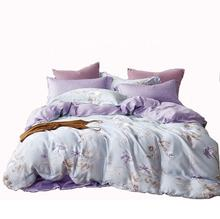 New luxury 100% organic 60s tencel lyocell designs flower bedding sets bedsheet sets lenzing tencel bedding tencel sheets