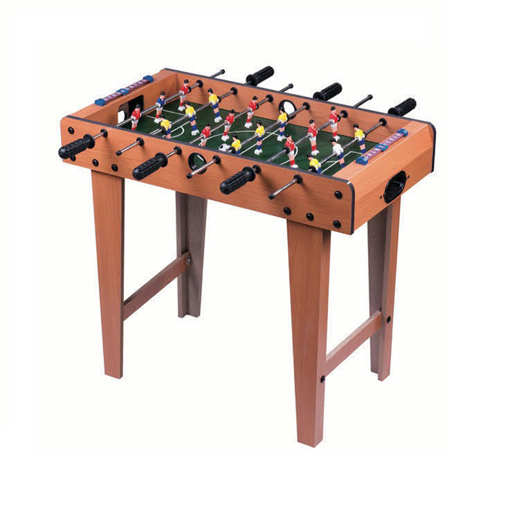 Kids game table childs soccer table high leg mini football game table