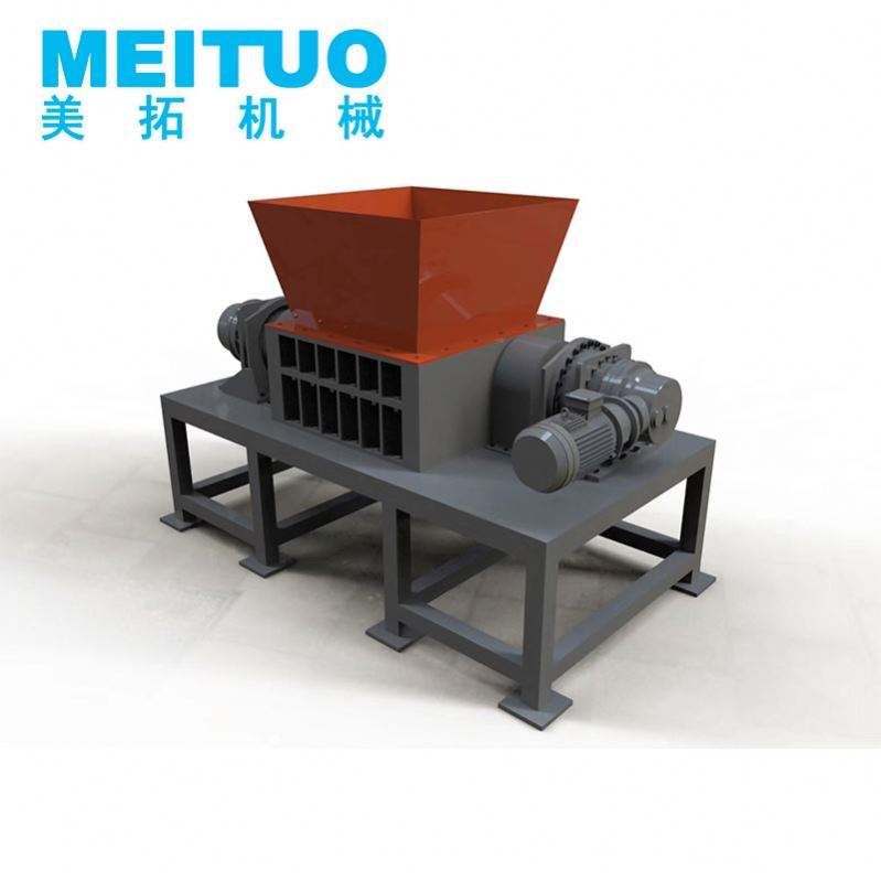 Industrial Hard Drive Double Shaft Shredder For Waste Recycling For Waste Recycling