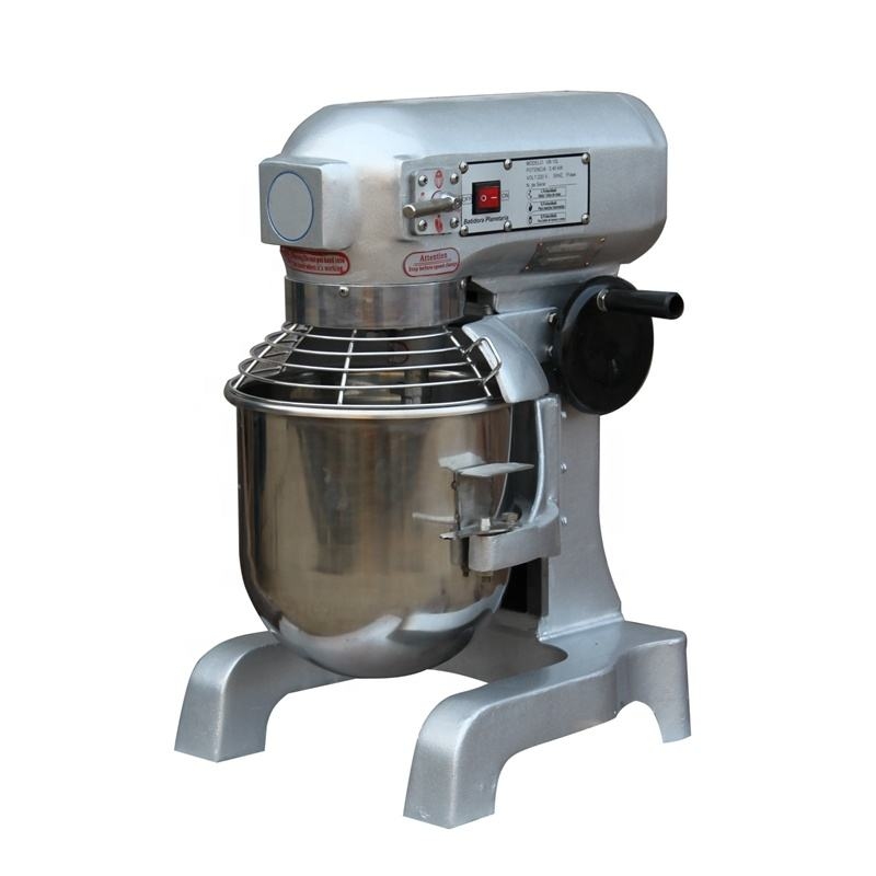 Professional CommerciaL Bakery Bowl Lift Design Hook/Whip/Flat Beater 10L Planetary Food Mixer