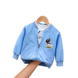 IHJ843 baby clothes Cute cartoon puppy jacket for boy and girl in the fall