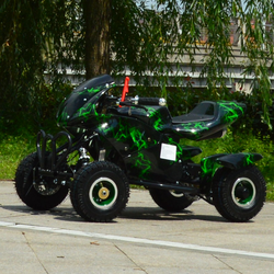 49CC mini ATV for kids safety quad with CE for sale