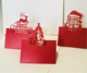 20pcs Christmas Party decoration Fall Wedding Place Cards Tented Place Cards Guest Table Seating Name Number Cards