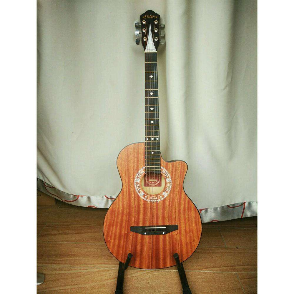 Customize 38inch Sapele acoustic guitar