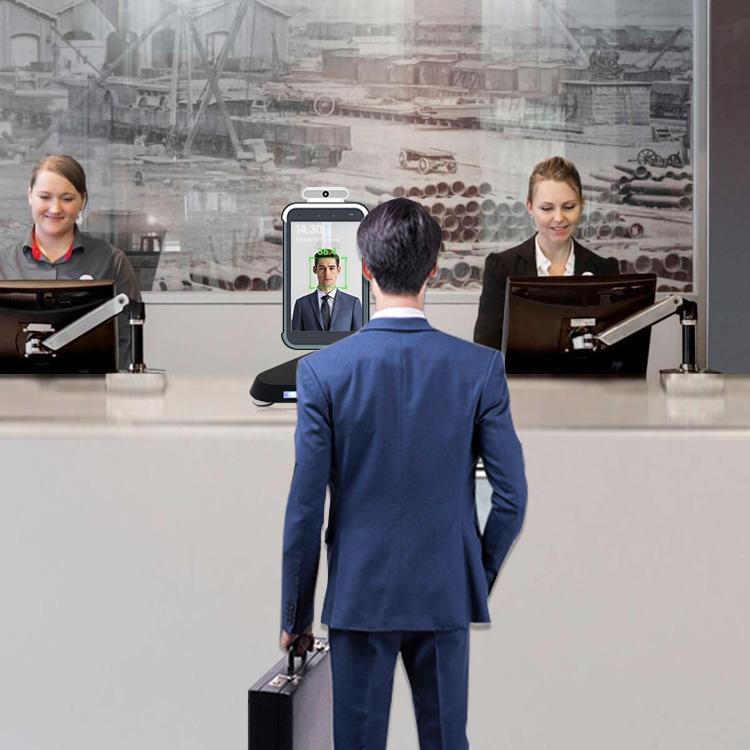 лидер продаж; Бесконтактный инфракрасный термометр с функцией распознавания лиц камера для школы/офиса/метро/KFC/торговый центр