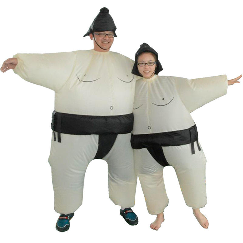 Funny Kids Inflatable Japanese SUMO Wrestler Fat Suit Party Costume