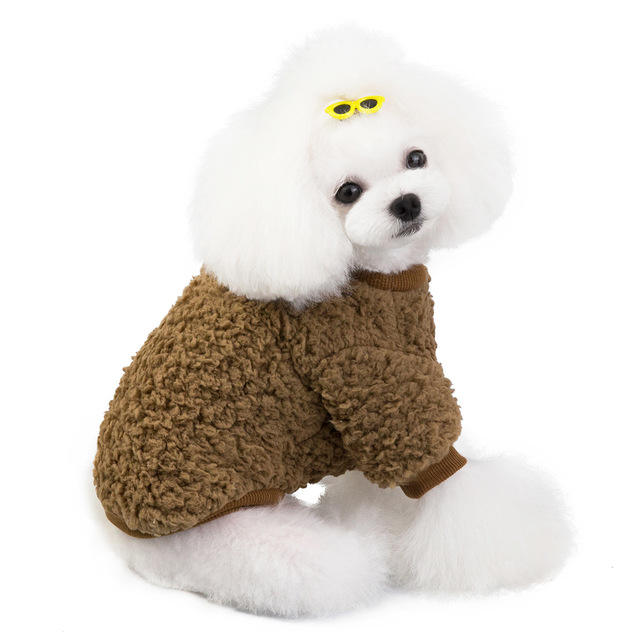 For Dogs Clothes Wholesale Autumn Winter Dog Clothes Warm New Dog Luxury Clothes For Dog Clothes