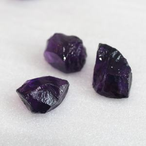 Natural Amethyst Rough Stone Quartz Healing Amethyst Gravel Tumbled Crystal