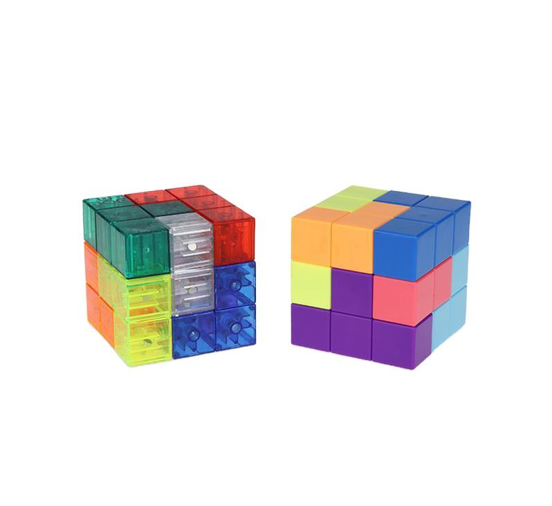 Puzzle Cube Magnetic block magic cube 3D creative toy