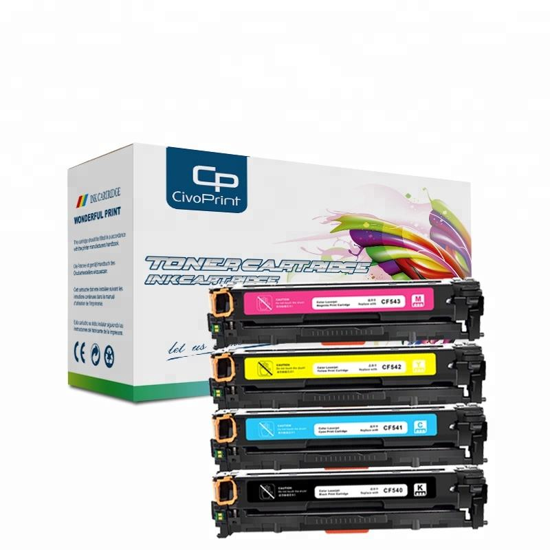 Civoprint LaserJet Pro M254 M254dw 254nw CF500A CF500 CF540A compatible white laser printer toner cartridge