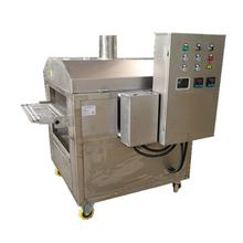 2019 new arrivals belt feeding and discharging industrial 2 sides burger steak char grill marker machine