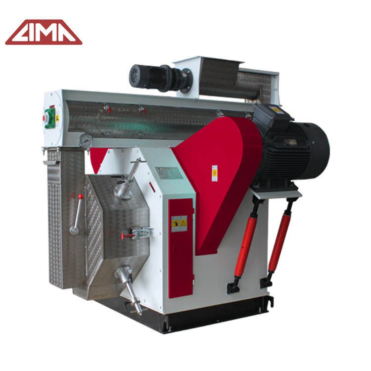commercial grass feeds turnkey animal feed production extruded pet food machines poultry pellet press 100 hp ring die equipment