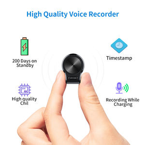QZT mini spy digital voice recorder support audio activated long time recording