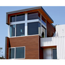 Factory Competitive Price Waterproof Exterior Wall Wood Cladding