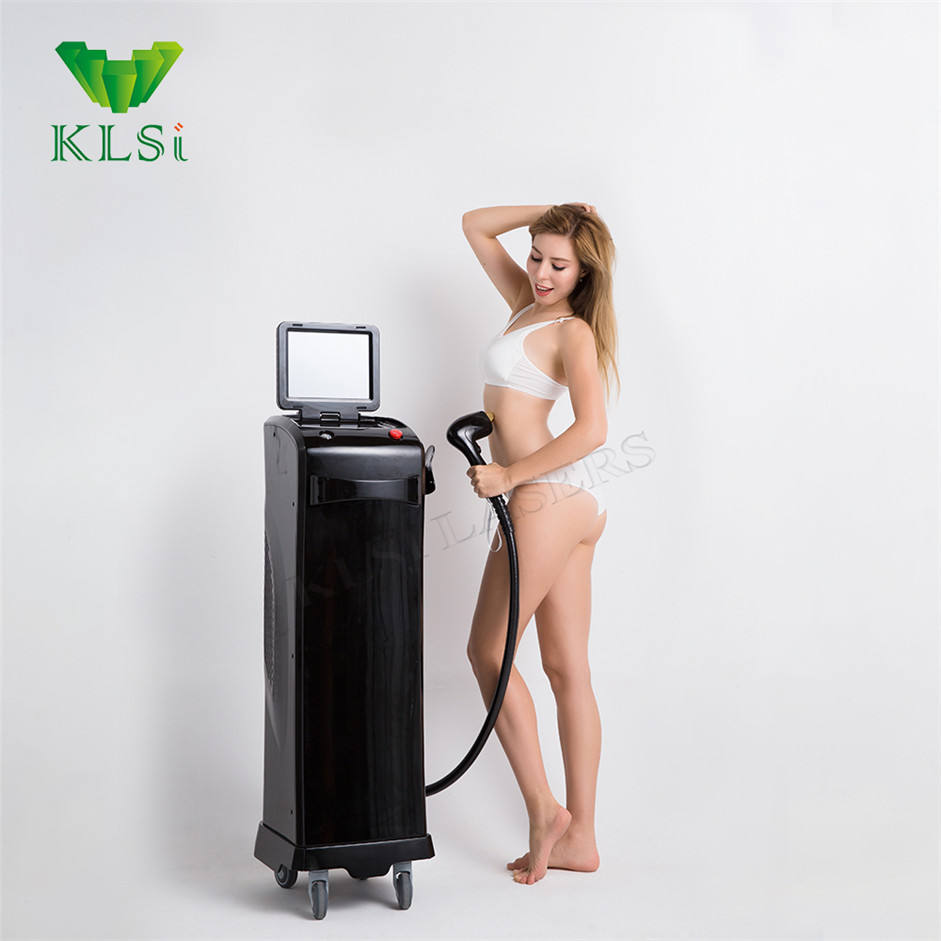 Hot Sell Beauty Parlor Painless 808nm Diode Laser Permanent Body Hair Removal Machine