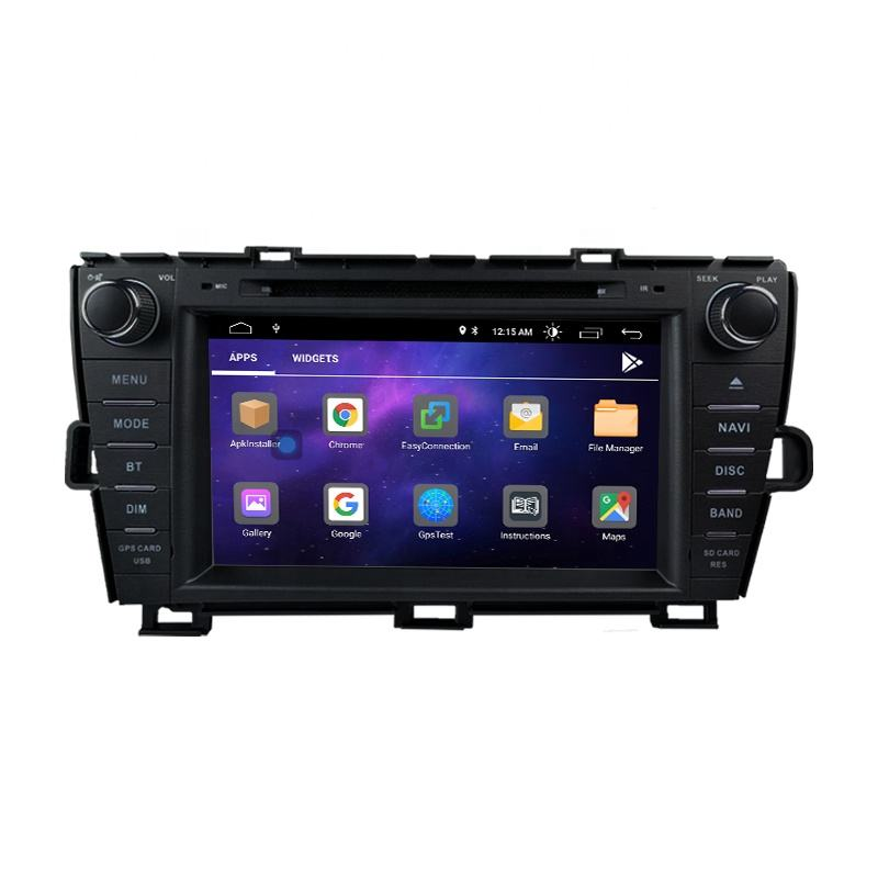 8 inch Android 2G+16G Car Navigation Multimedia Stereo DVD Player Sat Nav Radio For Toyota Prius 2009 2010 2011 2012 2013