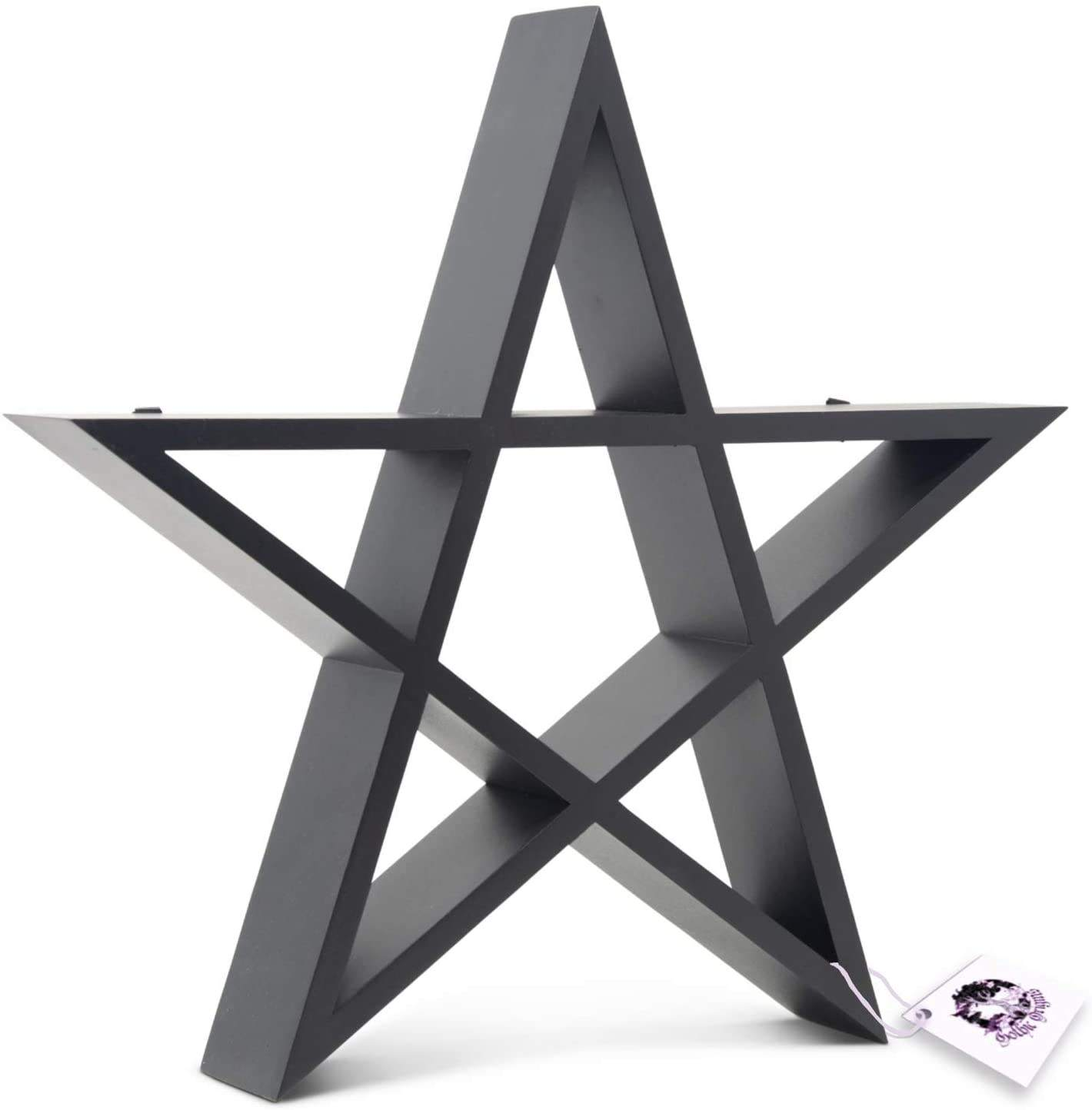 Home decoration star shelf is suitable for jewelry box crystal and essential oil display