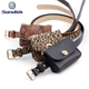 2020 Nice Price New Fashion Belt Bag With Chain, New Design Ladies Leopard Print Removable Fanny Pack Waist Belt Bags For Women
