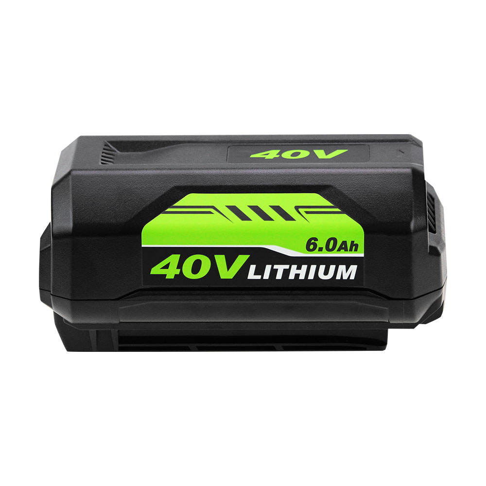 OP4050A 40V 6.0Ah Lithium-Ion Battery for Ryobis 40-Volt Collection Cordless Power Tools Li-ion Battery OP4015 OP4026