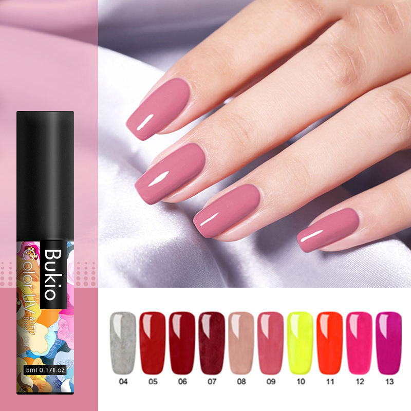 Hot Sale 1 Flasche 5ml Private Label Lack langlebige Serie Nail Art Gel Lack Gel polish Maniküre super wunderbares Werkzeug