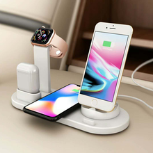 amazon bestseller 2020  3 in 1 wireless charger charging stations 4-in-1 charging station charger wireless