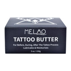 Tattoo Butter Before, During  Moisturizes, Protects, and Heals Skin tattoo removal care aftercare cream