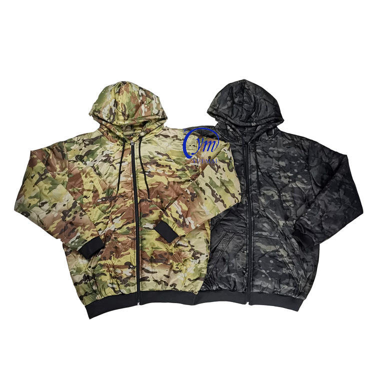 Cheap Customized Military Tactical Woobie Hoodie Jacket With Zipper style and pullover style