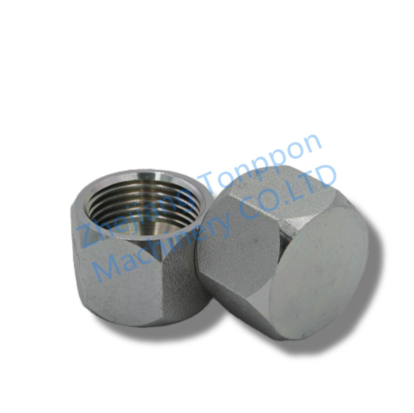 JIC Female End Cap Made by 45# Carbon Steel Hydraulic Fitting