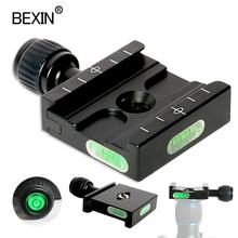 BEXIN dslr camera photography accessories QR50 Arca swiss quick release plate clamp mount base adapter for tripod ball head