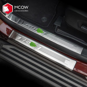 Mcow Hot Selling 304 Stainless Steel Car Door Sill Scuff Plate Used For Ford Edge 2018