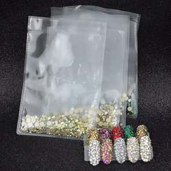 High quality cheap AB color Rhinestone SS10 flat bottom. Design and decoration of nail accessories wedding dress