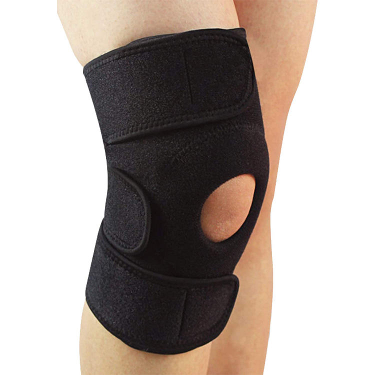 Adjustable Knee Pads Neoprene Fabric, Durable Sports Support Neoprene Running Knee Guard Pads