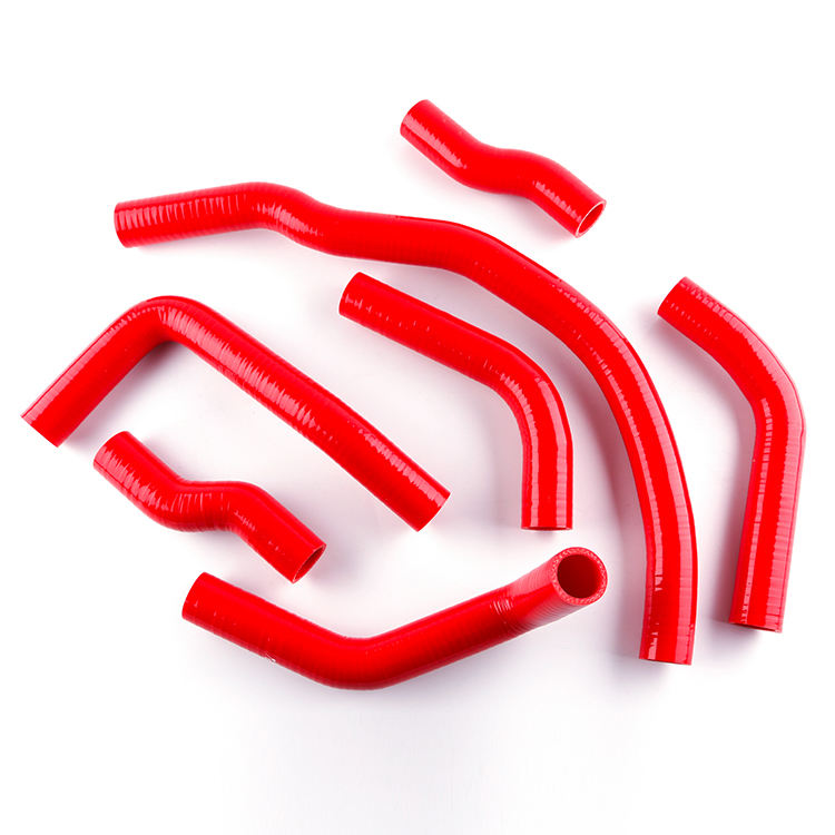 12Pcs Silicone Coolant Hose Kit For Toyota MR2 MK1 AW11 Chassis MT 1984-1989 Red
