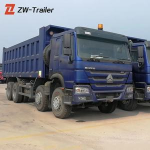 Sinotruck USED HOWO 8X4 Dump Tipper Truck for sale