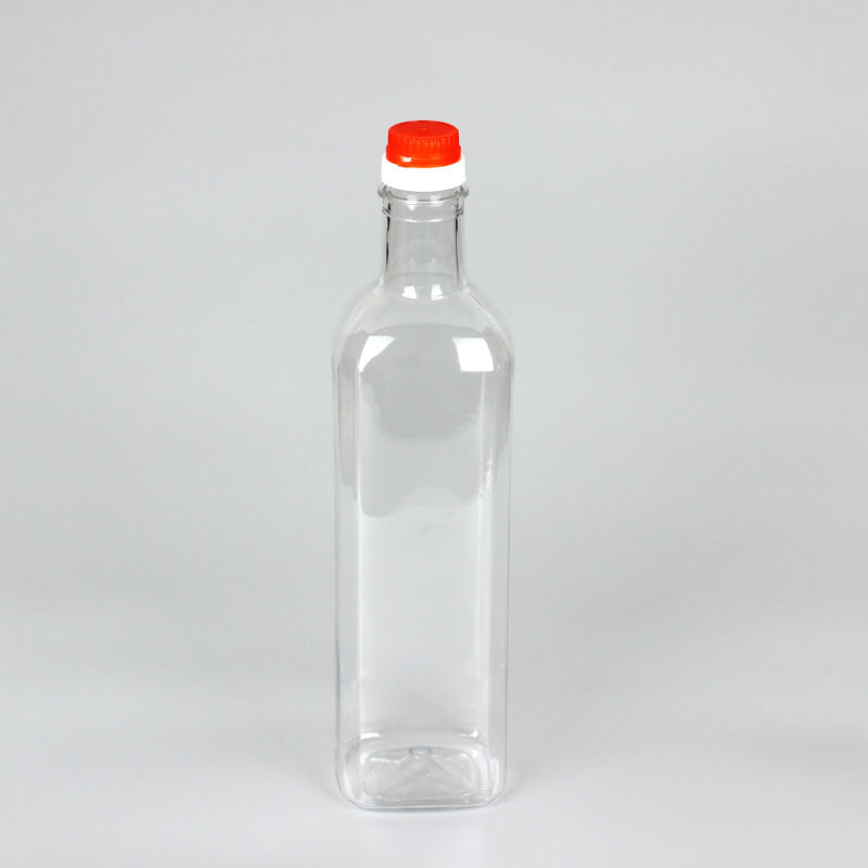 Professional plastic bottle packaging factory wholesale 1 liter filling oil bottle cheap price with screw cap