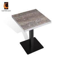 Hot Sale Modern Melamine Cafe Pour Table Top For Restaurant
