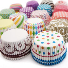 2020 novelty Disposable Eco-friendly Cupcake baking cups muffin cases customized Paper Cup cake