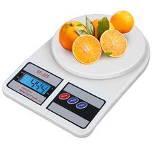 LCD Digital Electronic Kitchen Scale, SF-400  Weight Round Plate Food Scale