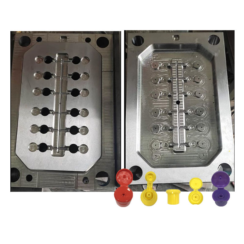 Cold [ Plastic Cold Mould ] Plastic Injection Mold Design Disinfection Water Plastic Flip Cover Cold Runner Injection Mould