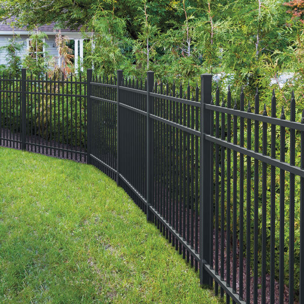 Fence Steel High Quality Metal Fence Made Of Aluminum Alloy And Steel Powder Coated Customized Service OEM ODM Ornamental Fence Panels
