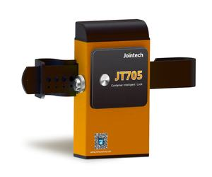 Jointech Container GPS tracker padlock JT705 lock unlock by on site and SMS software APP remotely