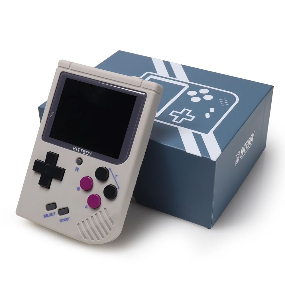 Video Game Console New BittBoy - Version3.5 - Retro Game Handheld Games Console Player Progress Save/Load 32gb card External