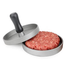 Free sample! Low MOQ Aluminum Burger Meat Press Patty Hamburger Maker for Outdoor Grill Barbecue