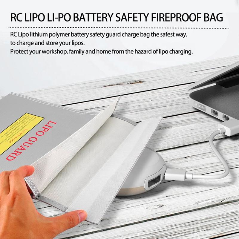 Groothandel Brandwerende Document Lipo Guard Lipo Accu Safety Bag