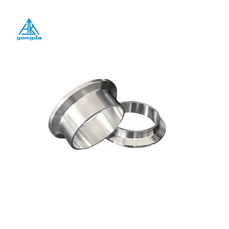 Yongda 304 316L tri clamp stainless steel sanitary ferrule, ferrule fittings connector manufacturer