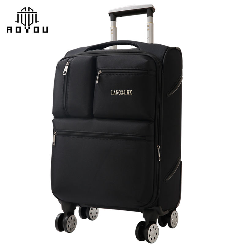 2019 Travel Bag Suitcase Luggage Set Custom logo 4 wheel travel world trolley luggage bag