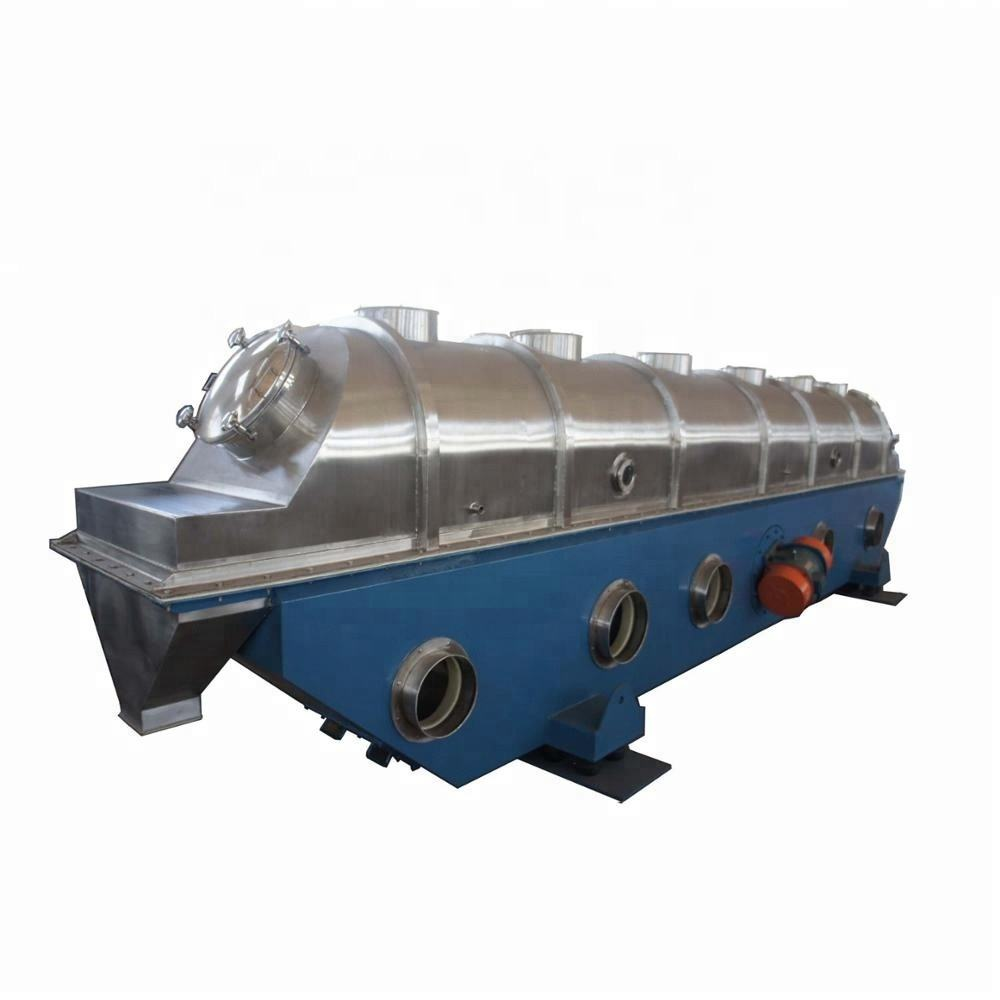 ISO certificated vibrating fluid fluidized bed dryer drying machine for edible sea salt